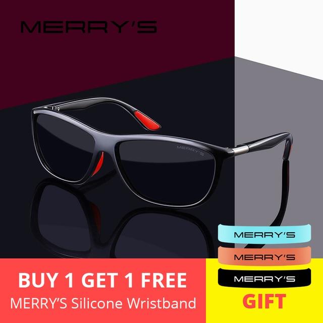 MERRYS дизайн мужские HD поляризованные солнцезащитные очки спортивные очки для рыбалки UV400 защита S8310