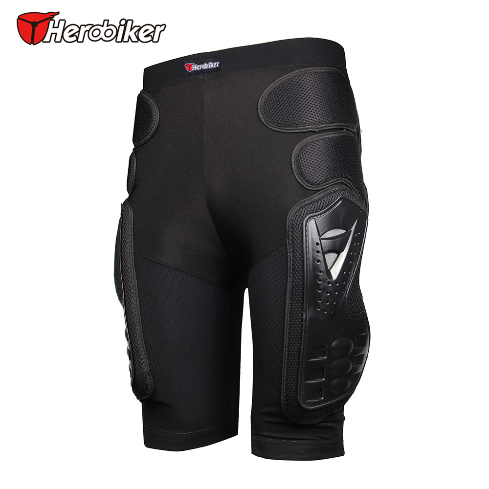 HEROBIKER Outdoor Sports Snowboard Hockey Armor Shorts Protective Gear Ski Gear Equitation Hip Pads Protection Skate Butt Pads in Skateboarding Shorts from Sports Entertainment