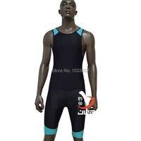 LAVORO Triathlon Formazione Jogging Ciclismo vestito di un pezzo vestito per gli uomini muta per il nuoto e immersioni ciclismo corsa solare protettiva vestiti