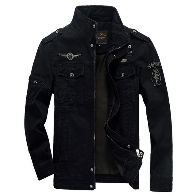 Мужчины Зимняя Куртка Армия Армия бомбардировщик куртки jaqueta masculina плюс размер 6XL пальто мужские джинсовые куртки для aeronautica militare