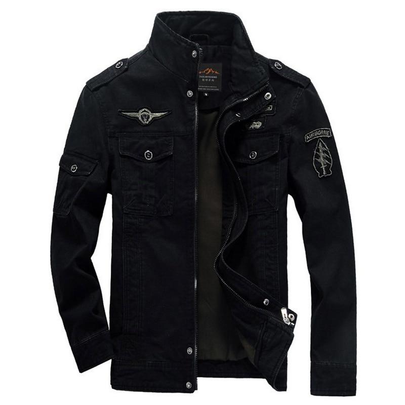 Män Jacka Vinter Militär Army bomber jackor jaqueta masculina plus - Herrkläder