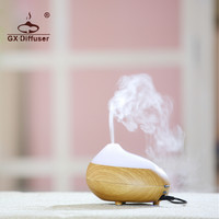 GX Diffuser 7 Color LED Electric Portable Humidifier Air Aromatherapy Essential Oil Aroma Diffuser Ultrasonic Office