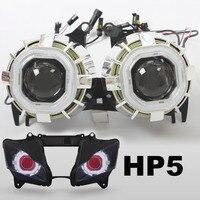 KT Motorcycle Projector Lens Kit Suitable For Kawasaki Ninja ZX 10R ZX10R 2011 2012 2013 2014