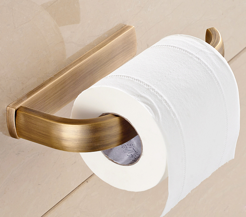 Clic Euro Style Bathroom Accessories Autique Bronze Br Toilet Tissue Paper Holder Wall Mounted Box In Holders From Home Improvement On