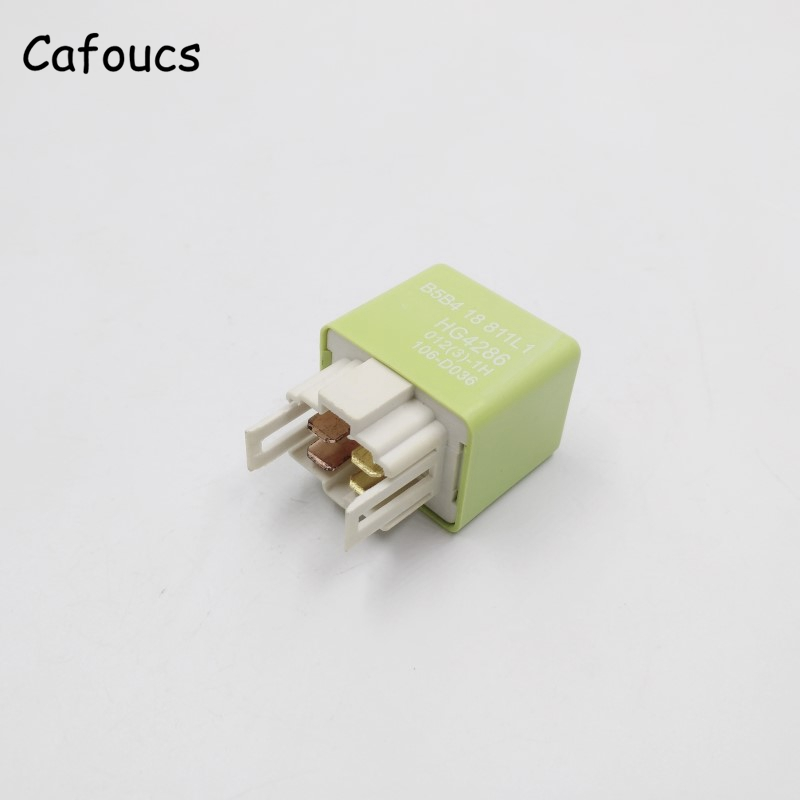 Cafoucs Master Relay For Mazda 323 626 Family Premacy MX-5 Main Control Relay With 4 Pins B5B4-18-811