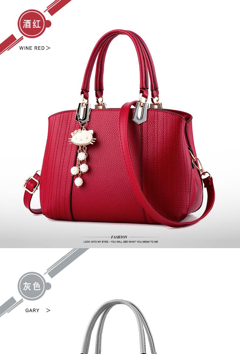 Vintage Leather Ladies HandBags Women Messenger Bags TotesTassel Designer  Crossbody Shoulder Bag Boston Hand Bags Hot Sale 07717f391321e