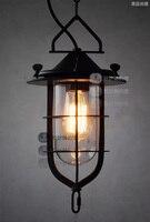Ländlichen stil pendelleuchten Edison pendelleuchte jahrgang industrielle beleuchtung Enthalten led-lampe Freies verschiffen