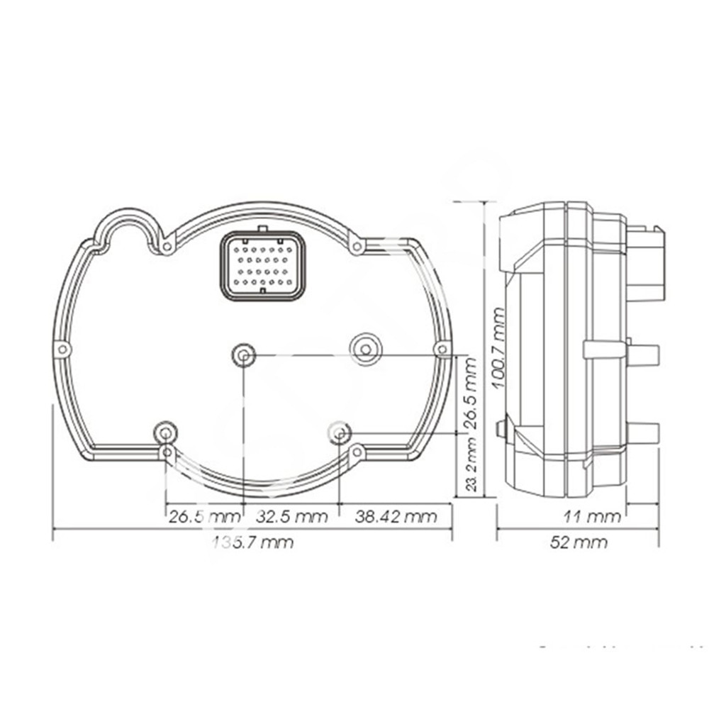 Wiring Diagram Speedometer Koso