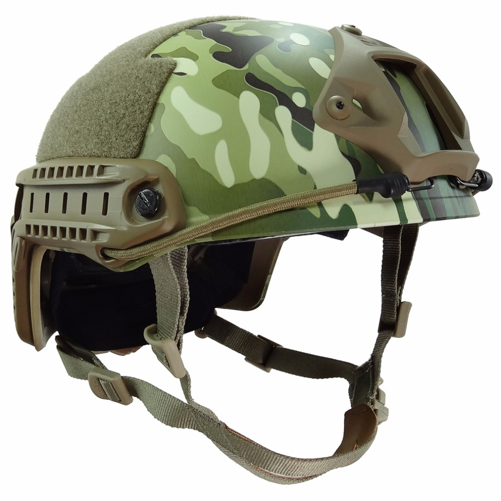 MH Standard Fast Ops Core Tactical Helmet Outdoor War CS Game Airsoft Paintball Head Protector Helmet with 12-in-1 Headwear high quality outdoor airframe style helmet airsoft paintball protective abs lightweight with nvg mount tactical military helmet