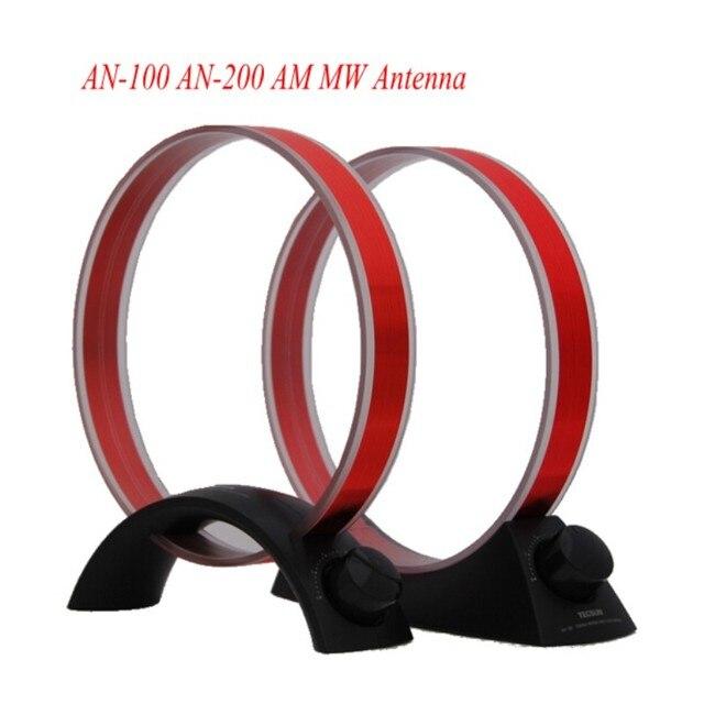 Высокое Качество TECSUN-100 АН-200 AM MW Антенна Для FM Радио перестраиваемый Средние Волны Усиления Радио Аксессуары Антенна Инструмент 2 Стиль Черный