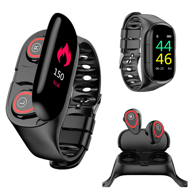 2-In-1-Color-Screen-M1-Smart-Bracelet-Wristband-Wireless-Bluetooth-5-0-Earphones-Heart-Rate.jpg_640x640