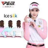 PGM Quần Áo Golf Ice Cuff Lady Arm Hâm Kem Chống Nắng Bảo Vệ UV Khăn Choàng Đa Chức Năng Golf Choàng Tay Áo Mùa Hè Xe Đạp Cuff Đi Xe Đạp