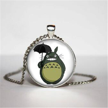 My Neighbour Totoro Necklace, Totoro Pendant, TOTORO Necklace, for him, Art Gifts, for Her HZ1