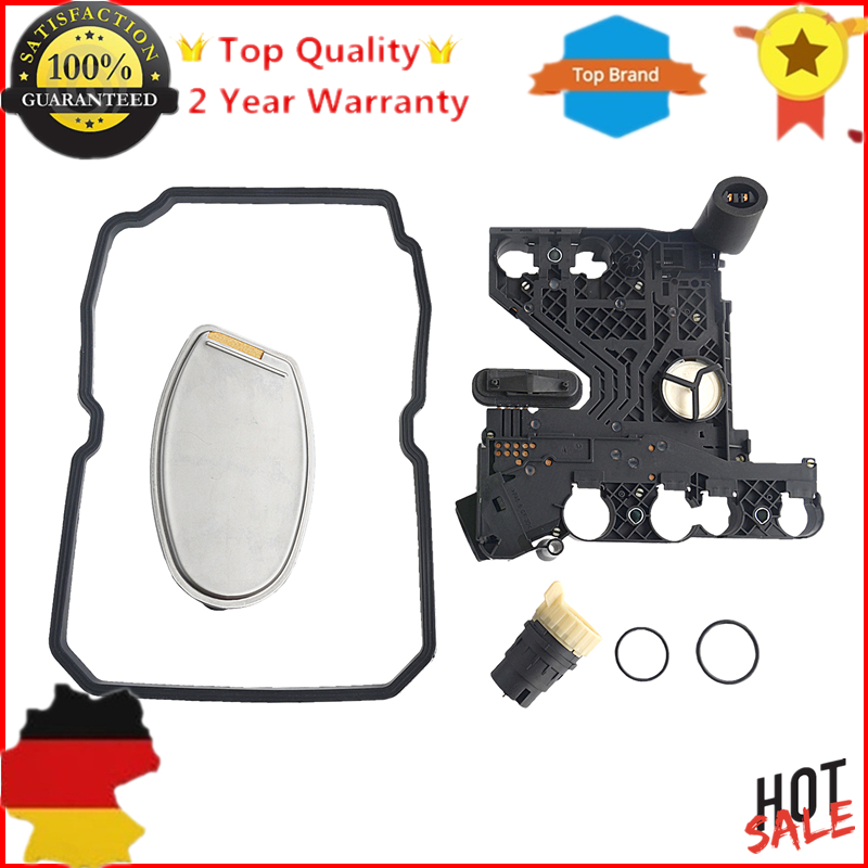 New Transmission Conductor Plate+Filter+Connector+Gasket KIT for Mercedes Benz Dodge Freightliner Sprinter new 2017 women swimsuit solid push up skirted bathing suit padded one piece beach dress sexy ladies swimwear