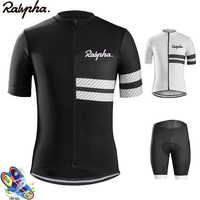Raphaing NW Men Cycling Jersey 2019 Pro Team Cycling Set Short Sleeve Breathable Maillot Ropa Ciclismo Men's Cycling Jersey Kits