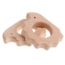 Baby Interesting Baby Handmade Natural Wooden Teether Teethi