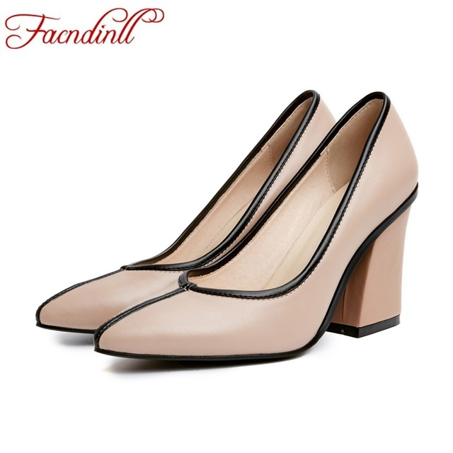 women shoes new fashion 2017 spriung summer shoes woman pumps sexy high heels pointed toe women dress party wedding shoes woman