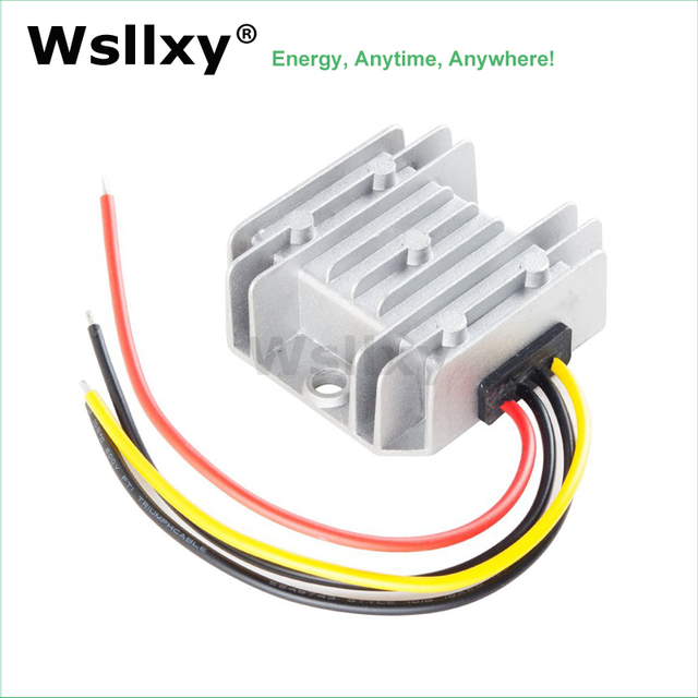 12v To 48v 1a 2a Dc Boost Converter 12 Volt 48 Step Up Voltage Regulator Ce Rohs In Inverters Converters From Home Improvement On