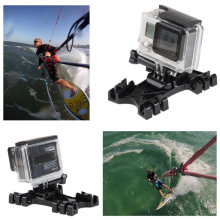 Gopro Kiteboard Surfing Kite Line Mount Holder+Buckle for GoPro HERO 2 3 3+ 4 SJ4000 SJ5000 SJ6000(China)