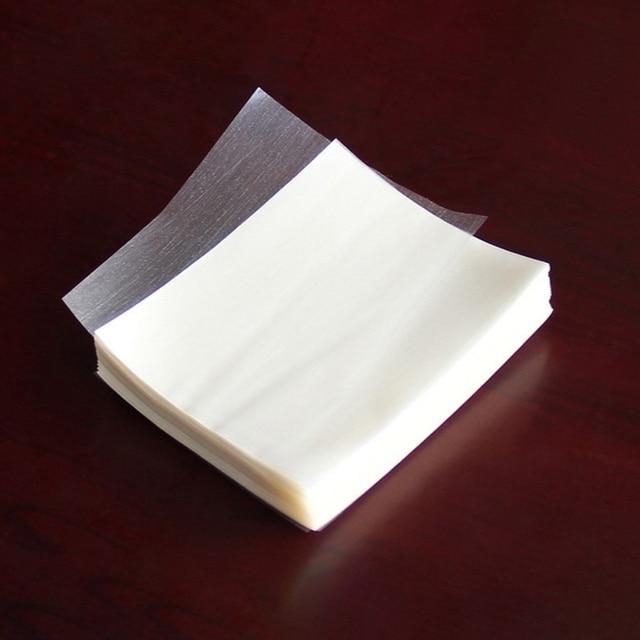 500 枚ヌガー包装紙食用もち米紙ベーキングキャンディー紙キャンディ透明もち米紙
