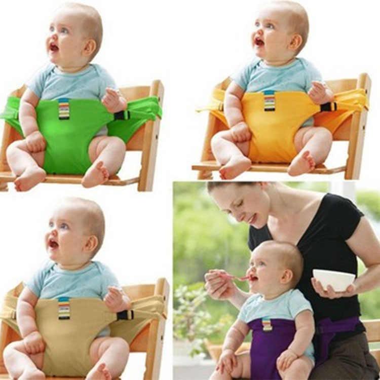 Dziecko przenośne krzesło do jadalni pas bezpieczeństwa Porable Seat dzieci dziecko obiad na fotel karmienie krzesełko szelki krzesełko dla dziecka