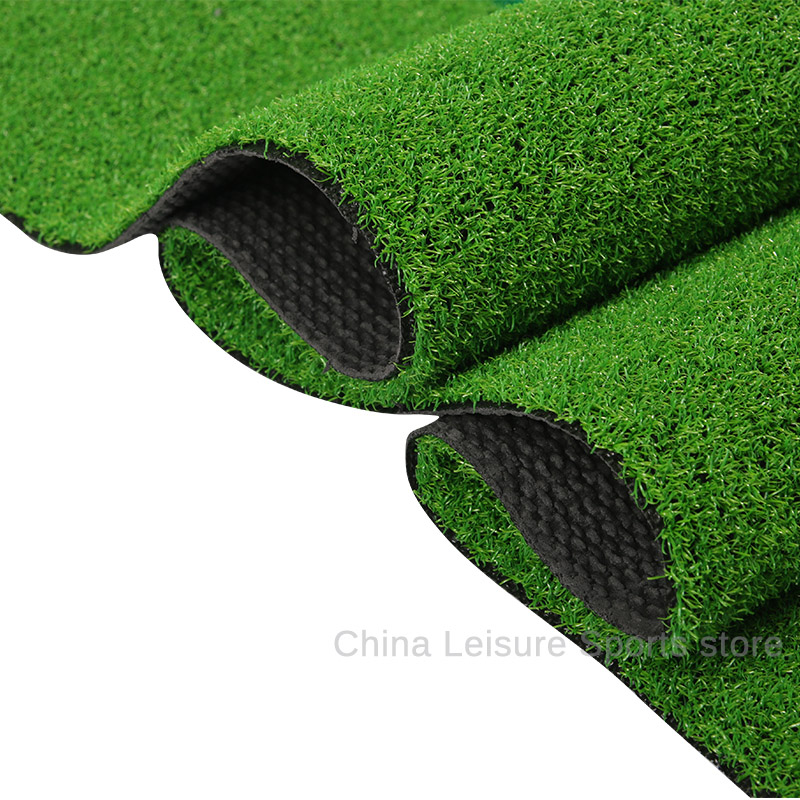 Golf Indoor Simulation Exercises Carpet Green Grass Carpet Non-slip Rubber Training Hitting Pad Practice Tee Holder Grass