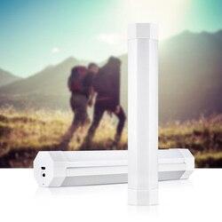 UY-lampe de Camping à piles LED, avec aimant puissant, alimenté par batterie 18650, lumière Led Rechargeable et Led