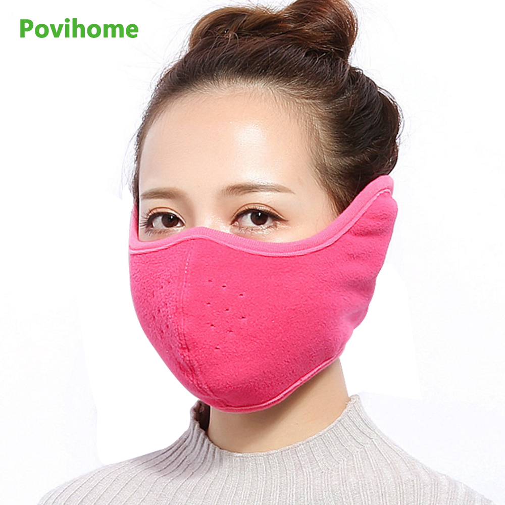 2017 Multi Color Winter New All-inclusive Mask Men And Women Warm Dust Mask Stereo Breathable Bag Ear Mask Z785