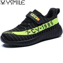 Купить с кэшбэком 2019 Brand Thick Sole Non-slip Soft Kids Sneakers Black Speed Runner Boys Sport Shoes Outdoor Children Walking Shoes Student Run