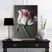 Nordic Flowers Poster Canvas Painting Romantic Wall Art Pictures for Lving Room HD Posters And Prints Pink Green Home Decorative romantic nordic flowers poster canvas painting wall art pictures for lving room hd posters and prints pink green home decorative