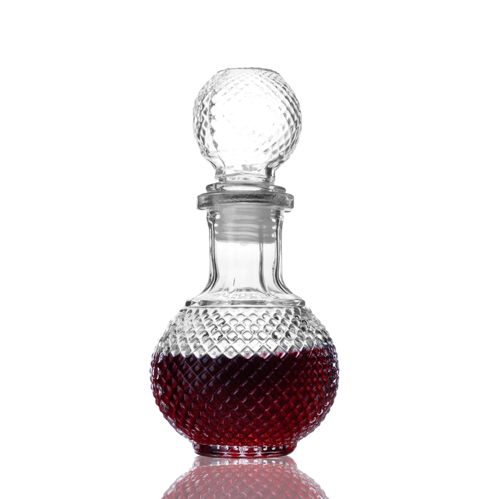 250ml glass crystal wine bottle shot wine decanter dispenser container whiskey liquor carafe water jug alcohol - Water Jug Dispenser