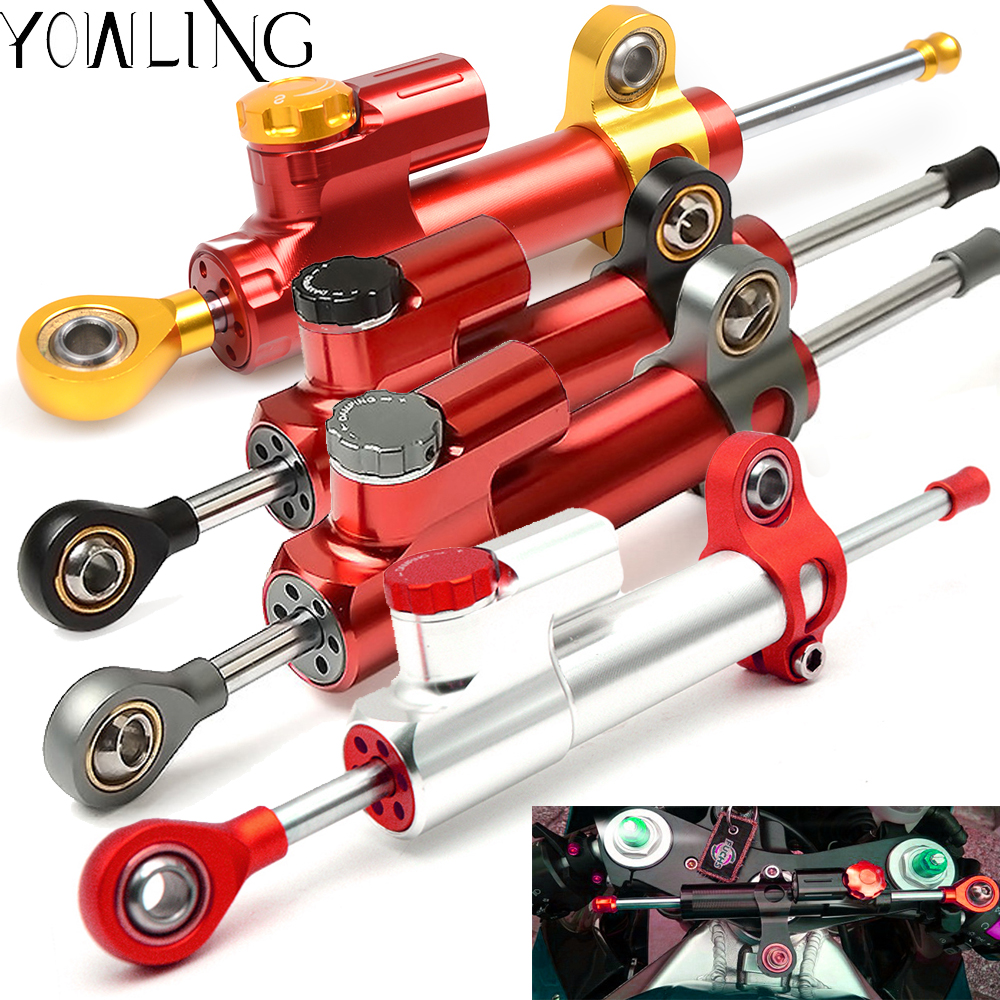 For Aprilia RSV MILLE RS125 RSV4 1000 R RR Factory ABS Motorcycle cnc Universal For Stabilizer