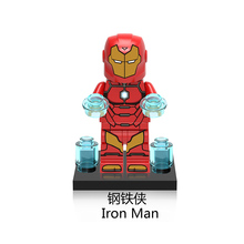 XH545 Iron Man Single Sale Superhero 76076 SUPER HEROES Building Blocks Figures Toys Gifts X0151