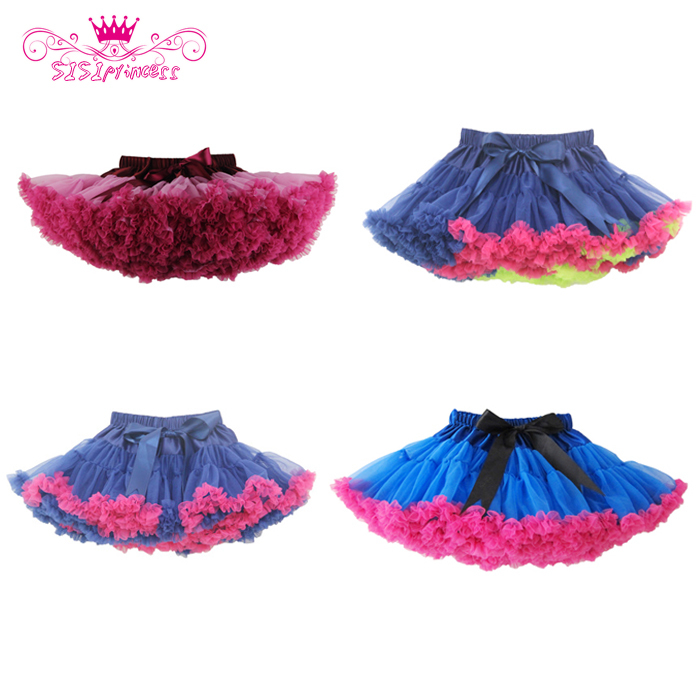 Free Shipping Hot Sale Baby girls fluffy chiffon tutu pettiskirts Girls princess skirt Ballet dance tutu skirt for 2-10 years