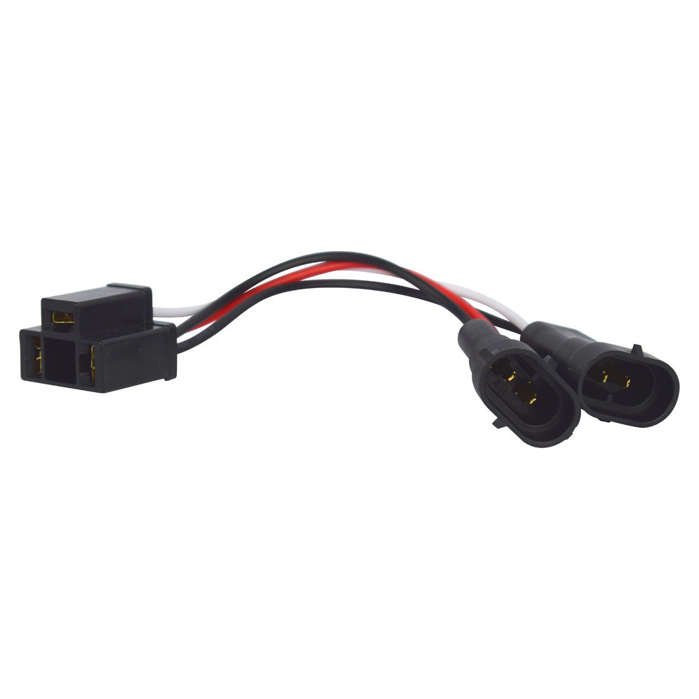 hight resolution of led headlight adapter harness for harley road king 2014 16 headlamp bulb