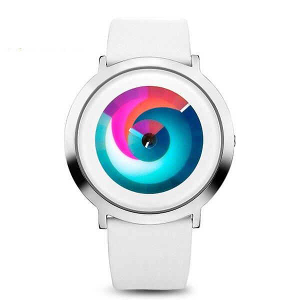 ФОТО Time2U Ladies Fashion Concept Minimalist Colorful Dial Business Women Quartz Watch Wristwatch
