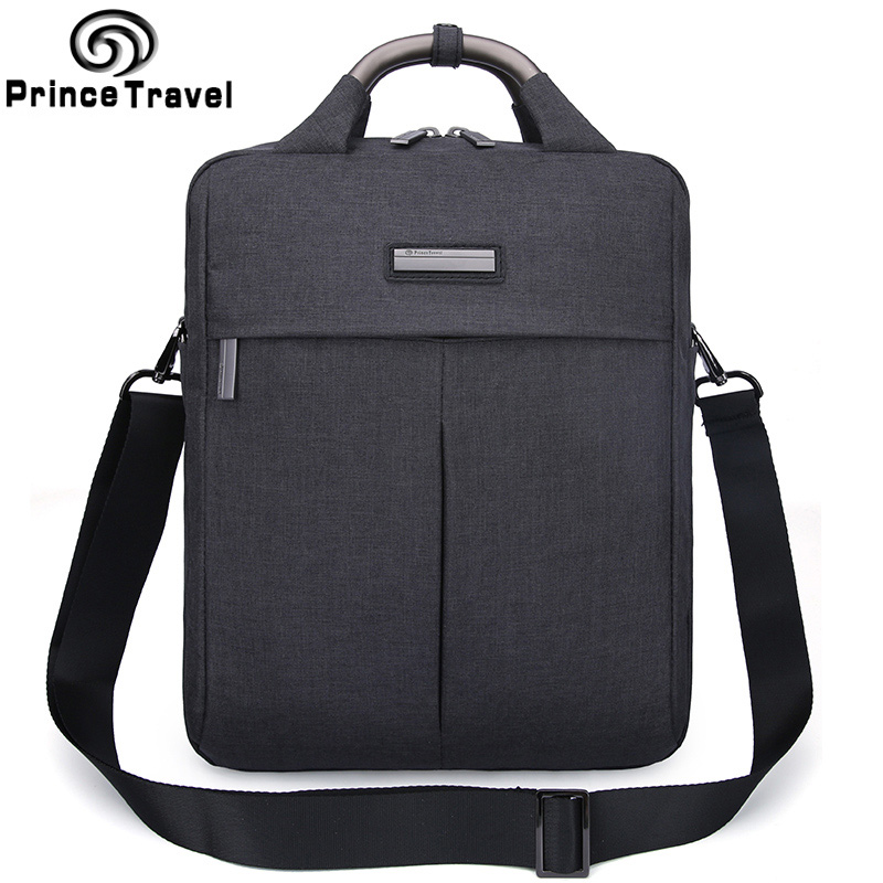 все цены на 2016 New Design Men Bags Men Shoulder Bag Famous Brand Design Waterproof Messenger Bag High Quality Women Brand Bag Grey Black