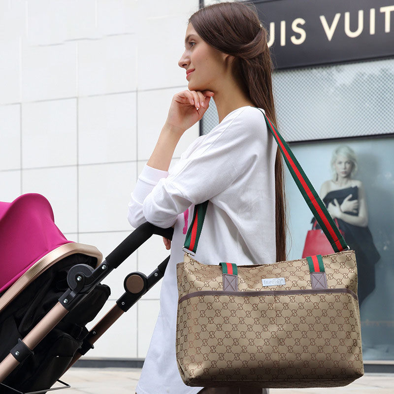 Mummy Maternity Nappy Bag Stroller Large Capacity Baby Travel Backpack Nursing Bag Baby Care Changing Shoulder Diaper Bag
