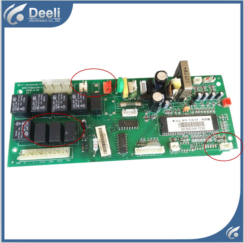 95% new good working for air conditioning Computer board KFR-71Q/Y KFR-71DLW/DY-1 pc control board on sale indoor air conditioning parts mpu kfr 35gw dy t1 computer board kfr 35gw dy t used disassemble