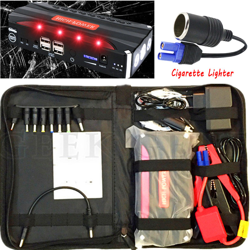 2017 Car Jump Starter Portable 12V Diesel Car Stlying Starting Device Power Bank 600A Charger for