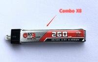 FSD 260mAh 30C/60C 1S Lipo HV Battery (8PCS)