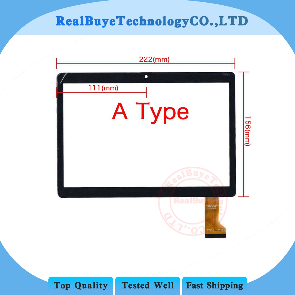 A+9.6 Inch Touch Screen MGLCTP-90894 MGLCTP 90894 WY-9018for MTK8752 MTK6592 T950s I960 32g T950s 8-Core 3G Glass Panel 222x156