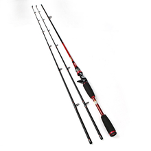 FISHKING Carbon 2.1M Two Segments Section C.W. M ML Lure Weight 7-25g Line Weight 5-25LB Bait Casting Hard Spinning Lure Rod