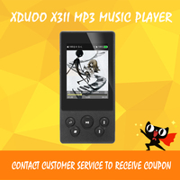 Xduoo X3II X3 II MP3 Music Player Bluetooth 4.0 AK4497 Hi Fi Audio Mp 3 Player Dsd Mini Mp3 Decoder Players for Support 256GB