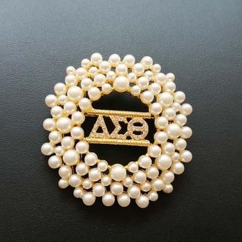 Дельта жемчужная булавка AEO DST нагрудный знак брошь ювелирные изделия