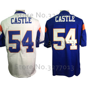 5aecfd9575d Movie TV Show Throwback Jerseys 54 Thad Castle Blue 7 Alex Moran Blue  Mountain State