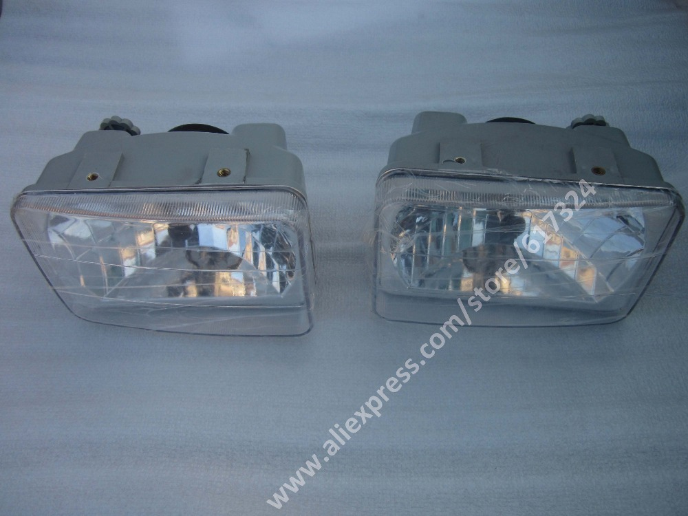 Dongfeng DF244-DF404 series tractor, the set of head lamps (left and right), part number: yituo yto x554 x904 tractor the front head lights left right is different part number sz550 40 030a 1 or sz550 48 031a 1