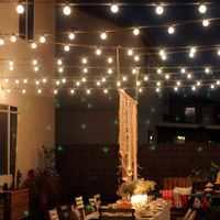 10 M 50Led bombillas de energía Solar luces de cadena Led para iluminación al aire libre patio calle Jardín Led luces de hadas guirnalda de Navidad