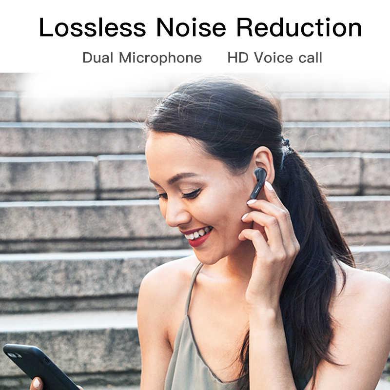 Terbaru Awei T10C Tws Bluetooth 5.0 Earphone Headphone Cerdas Kontrol Sentuh Headset Handsfree Benar Nirkabel Earbud dengan MIC