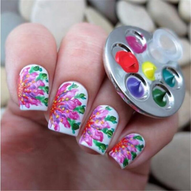 Mini nail art images nail art and nail design ideas 1pc mini nail art metal finger ring paint draw dish glue liquid 1pc mini nail art prinsesfo Images